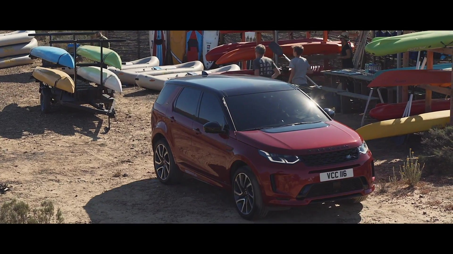 Vorstellung des neuen Land Rover Discovery Sport 2020