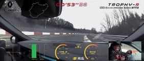 VÍDEO: Nuevo récord en Nürburgring, el Renault Mégane R.S. Trophy-R es el nuevo boss