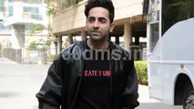 Bollywood Actor Ayushmann Khurrana Promotes His Upcoming Movie Article 15