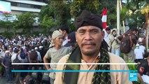Réélection de Joko Widodo : les partisans de l'opposition toujours mobilisés à Jakarta