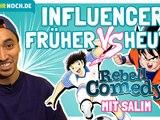 FRÜHER vs HEUTE: Influencer - Salim über Instagram, Werbung und Yu-Gi-Oh Karten (Rebellcomedy)