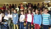 VIDEO. Blois : une chorale de collégiens-musiciens répète avant son spectacle de fin d'année