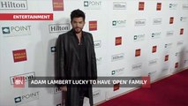 Adam Lambert Reflects On His Great Family