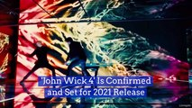 Keanu Reeves Is Returning For 'John Wick 4'
