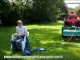 Cascade en tracteur