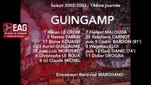 SAISON 2002 - 2003 J14 OM - EAG 0-0
