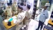 पुलिस कर्मियों की लापरवाही से भागा चोर