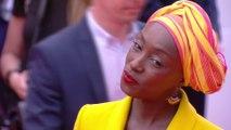 Les pas de danse de Mamouna N'Diaye sur le tapis rouge - Cannes 2019