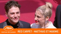 MATTHIAS ET MAXIME - Red carpet - Cannes 2019 - EV