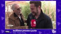 """""""Tu es un jouisseur"""" : Fabrice Luchini charrie un journaliste de Quotidien !"""