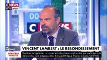 Edouard Philippe sur l'affaire Vincent Lambert :«J'ai été assez choqué par l'espèce de joie bizarre et à mon avis malsaine»