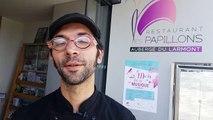 Vincent Pecclet,  maître-restaurateur du restaurant Les Papillons, organise le mois de la musique en juin à Pontarlier