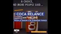 """34 ans après, Coca-Cola relance son """"New Coke"""" pour la troisième saison de Stranger Things"""