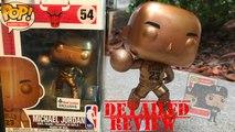Michael Jordan Bronze Funko Pop Statue Vinyl Figure Footlocker Exclusive Unboxing Detailed Review Hunting Vlog