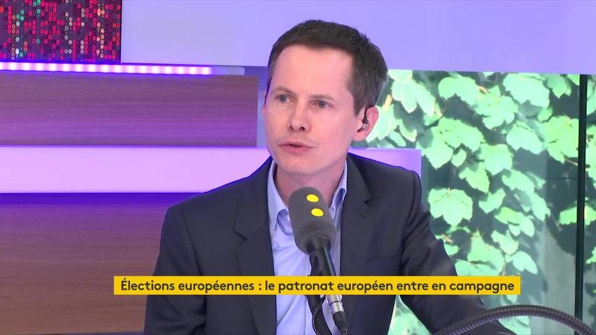 Pierre Gattaz (Business Europe) : « Il faut que les gens aillent voter dimanche »