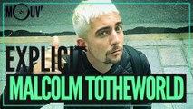 Malcolm Totheworld réagit aux punchlines de Vald, Rohff, Orelsan...