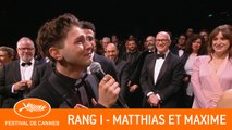 MATTHIAS ET MAXIME - Rang I - Cannes 2019 - VF
