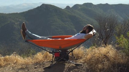 Portable Framed Hammock Is Ideal For Your Summer Adventures