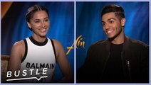 Naomi Scott & Mena Massoud Play Disney Movie Trivia