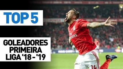 Top 5 goleadores Primeira Liga 2018/19