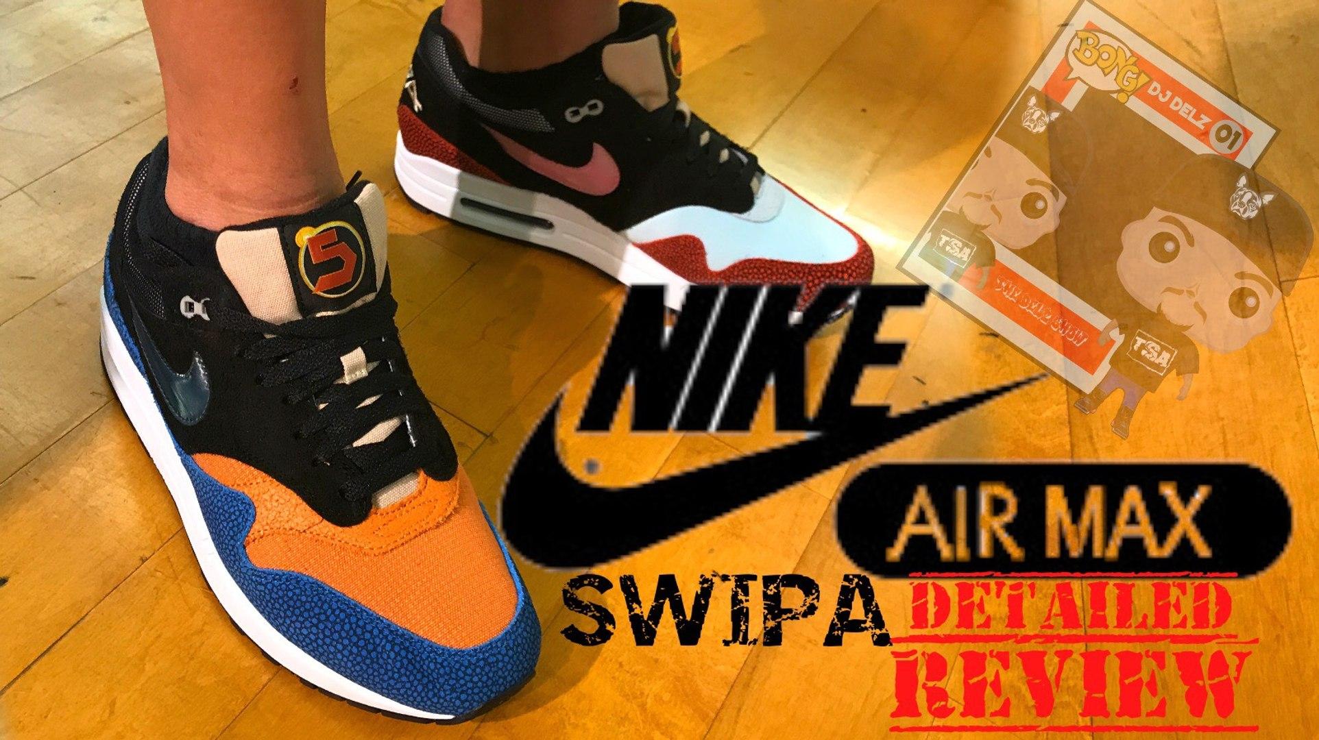 swipa air max 1 on feet