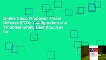 Full E-book Cisco Firepower Threat Defense (FTD
