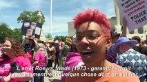 """Des Américains """"inquiets"""" manifestent pour défendre le droit à avorter"""