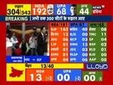 NDA ahead of Bihar's 13-seat trends, in 192 seats in 300 in Lok sabha Election 2019