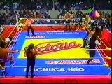 Vampiro/Konnan/La Parka/Zorro vs Pierroth Jr/Pirata Morgan/Black Morgan/Texano (Promo Azteca)