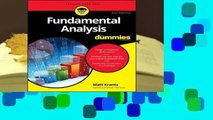 Complete acces  Fundamental Analysis for Dummies by Matthew Krantz