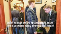 Bespoke Tailoring in London | Davies & Son