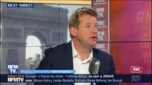 """Yannick Jadot (EELV) : La majorité """"ne veut pas sauver le climat"""" mais  """"veut récupérer les votes écolos"""""""