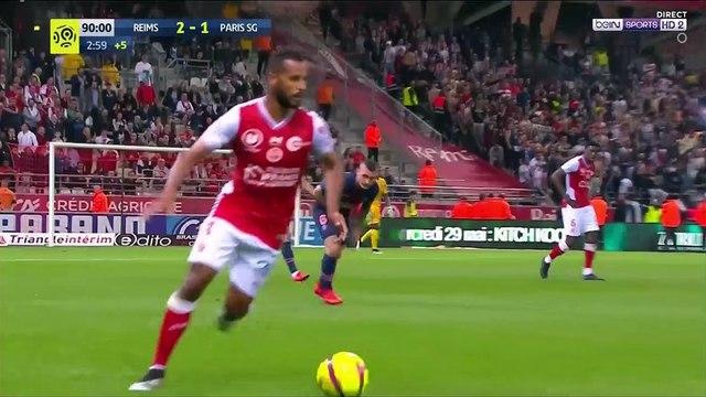Reims [3]-1 PSG - Chavarría funny goal