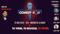 Comedy Mouv' #4 : mate en direct le show d'humour de Mouv'