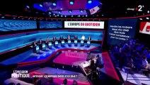 L'Emission Politique - Nicolas Dupont-Aignan invité du débat des Européennes sur France 2