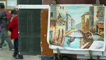 Banksy s'invite à la Biennale de Venise