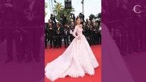PHOTOS. Cannes 2019. Iris Mittenaere illumine le tapis rouge dans une robe rose digne d'une princesse