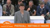MATTHIAS ET MAXIME - Photocall - Cannes 2019 - EV