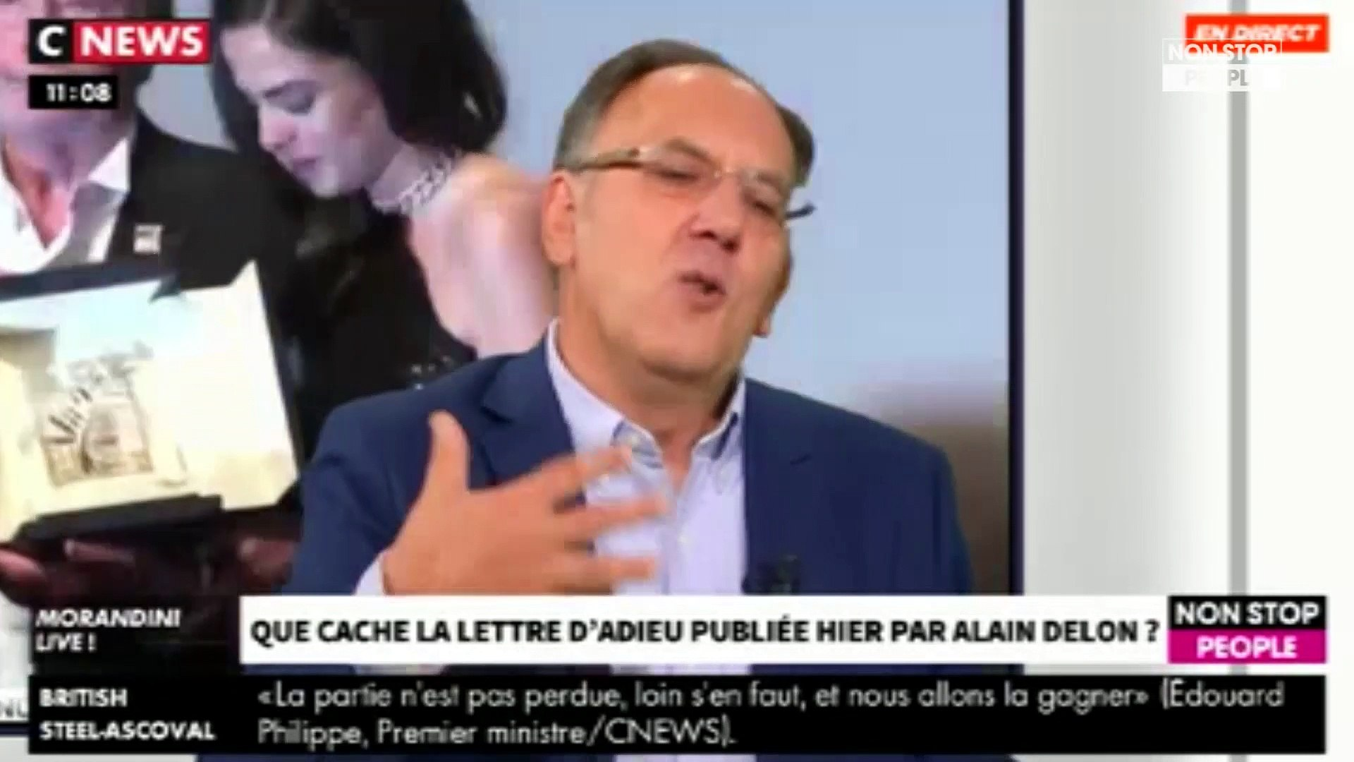 Morandini Live – Alain Delon : que cache sa lettre d'adieu ? (vidéo)