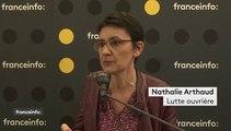 """Élections européennes: """"Cette société de l'exploitation n'est pas éternelle"""", affirme Nathalie Arthaud"""