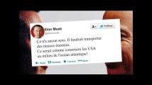Elon Musk tacle le projet spatial Jeff Bezos, et c'est logique
