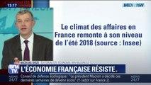 Les indicateurs le montrent, l'économie française résiste plutôt bien