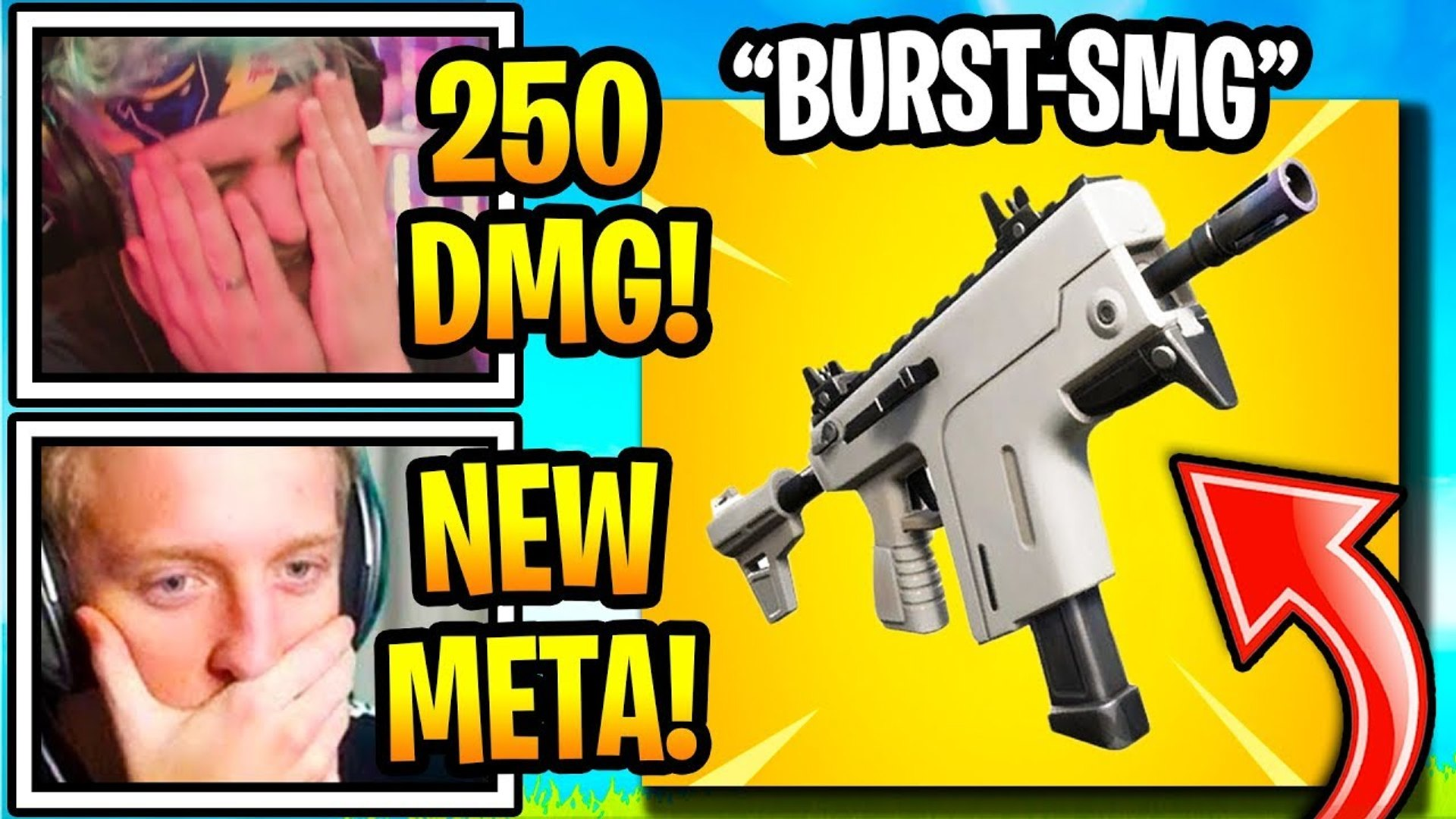 Streamers SHOCKED by the *NEW* BURST SMG (Vector) in Fortnite Battle Royale