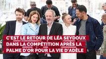 """CANNES 2019. Sara Forestier : """"Un regard de Léa Seydoux m'a fait fondre en larmes"""""""