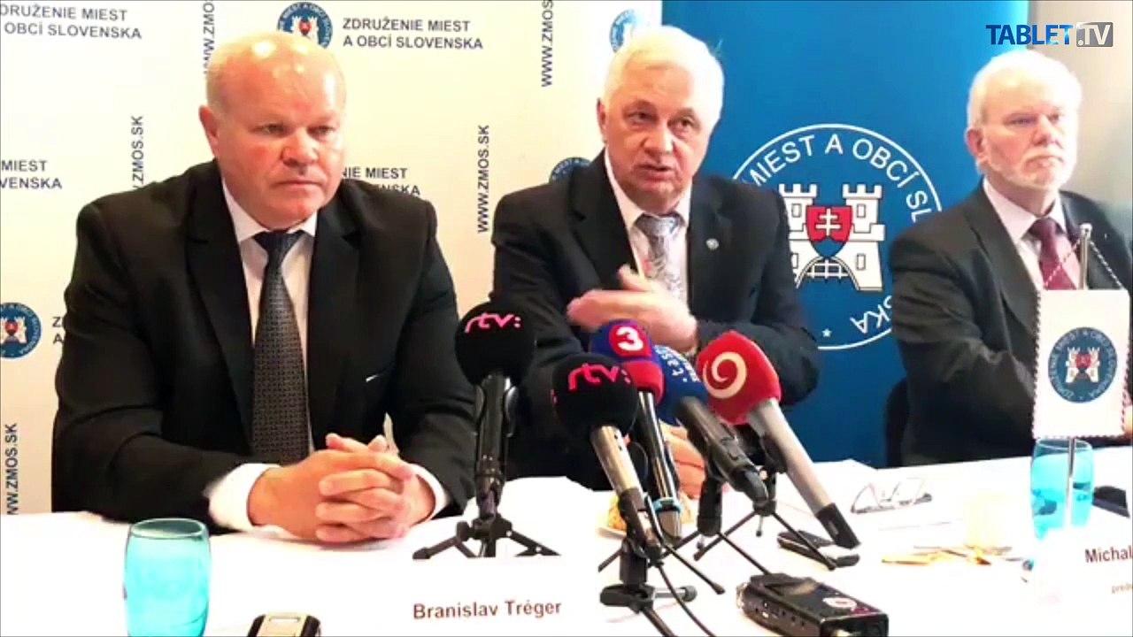 ZÁZNAM: TK predstaviteľov Združenia miest a obcí Slovenska