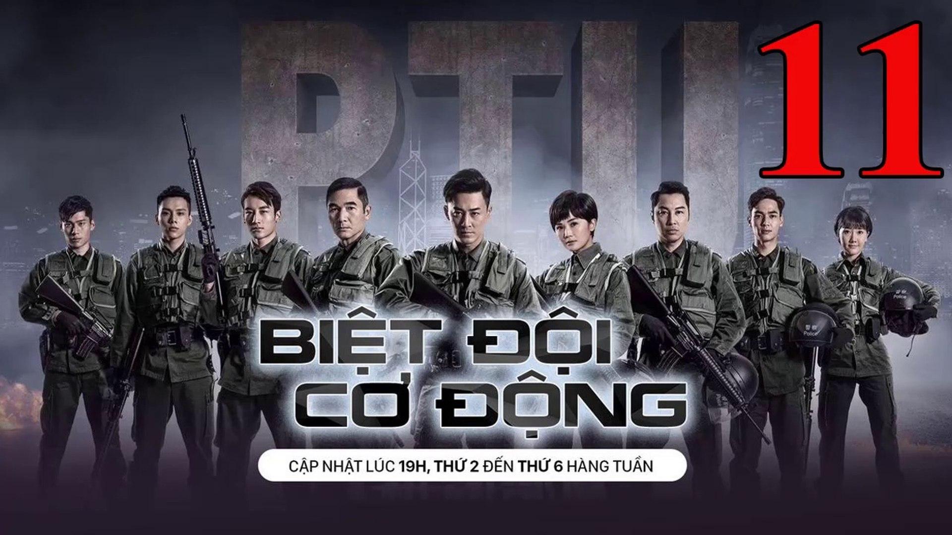 Phim Hành Động TVB: Biệt Đội Cơ Động Tập 11 Vietsub | 机动部队 Police Tactical Unit Ep.11  HD 2019