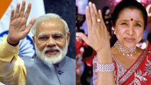 PM Narendra Modi receives best wishes from Asha Bhosle | FilmiBeat