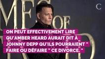 Avant de demander le divorce, Amber Heard a envoyé un SMS très romantique à Johnny Depp