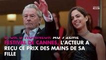 Alain Delon : le touchant message de sa fille Anouchka après sa Palme d'honneur