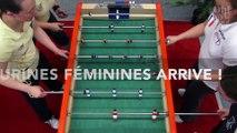 Un baby foot avec des figures féminines va etre commercialisé